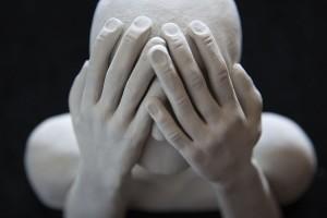 Humanoide II escultura